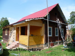 Реконструкция дома. Новосёлка